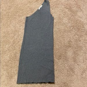 Zara Knut Gray Short Dress Size Medium